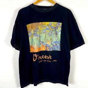 ✨3/$25✨Vincent Van Gogh Irises Graphic Tee